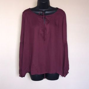 Jack by BB Dakota Boho Flowy Blouse Size S